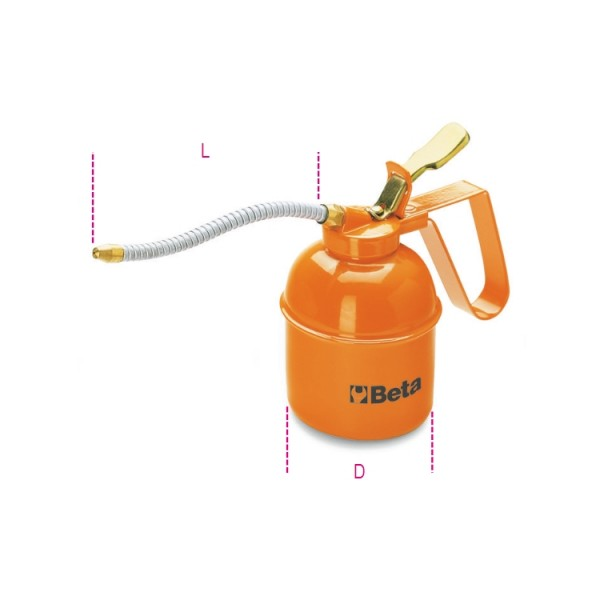 Oljekanna flexpip 1000ml